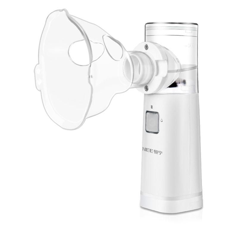 Air compressing nebulizer