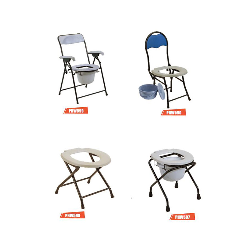 Toilet Steel Commode Chair